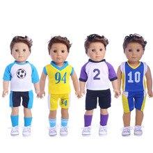 Les différents sweatshirts de Luckdoll conviennent aux meilleurs cadeaux de vacances des enfants de la poupée Logan de 18 pouces.