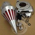 Aftermarket peças da motocicleta de Spike Air Cleaner Kits para 2014 Harle Davidson Electra Glide FLHTCU Cromo