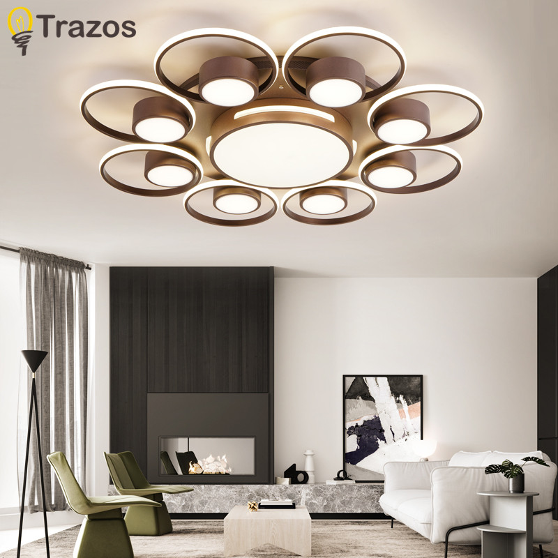 Modern Surface Mounted Modern Led Ceiling Lights For Living Room luminaria led Bedroom Fixtures Indoor Home Dec Ceiling Lamp цена