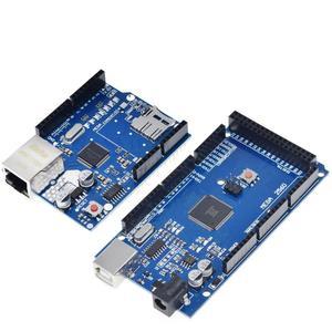 Image 2 - 1 set ShengYang UNO إيثرنت W5100 شبكة لوح تمديد SD بطاقة درع لاردوينو مع ميجا 2560 R3 Mega2560 REV3