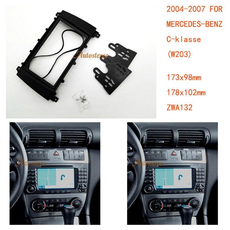 Autostereo 11 132 Car Radio Fascia for C W203 CLC CL203 CLK W209 G W463 Car
