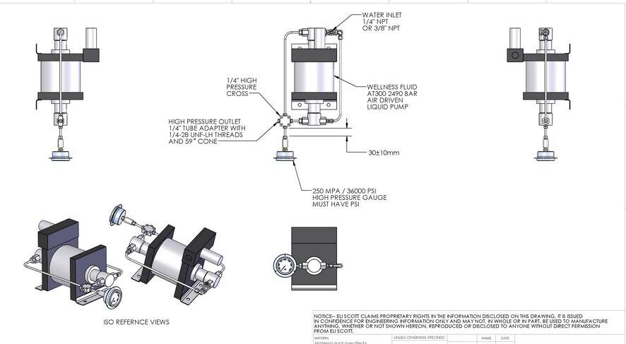 Free shipping Wellness Model : AT300 1 High pressure air