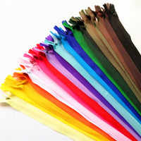 10pcs 40cm invisible zippers for skirt pants lace zipper closure zipper for sewing zip fastener clothing sewing accessories