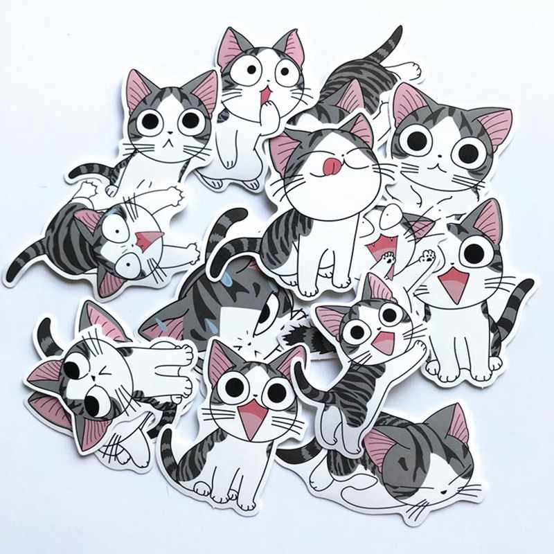 14 Pcs/Lot Chi's Sweet Home Stickers Anime For Decal Snowboard Laptop Luggage Car Fridge Car- Styling Sticker Pegatina