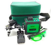 XEAST 12Lines Green Laser Levels Self Leveling 360 Horizontal And Vertical Cross Super Powerful Green Laser