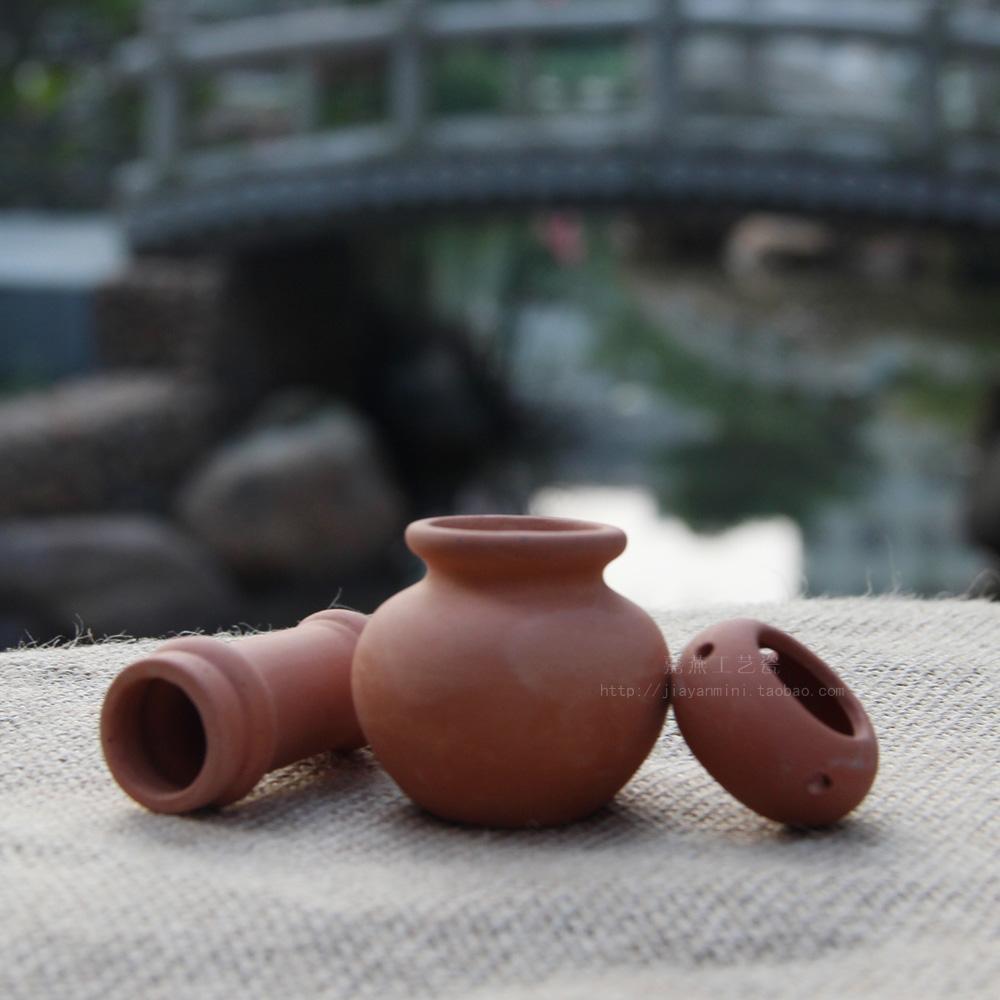 JIAYAN Dollhouse miniatura Maceta de terracota Jardín eólico rural - Decoración del hogar - foto 4