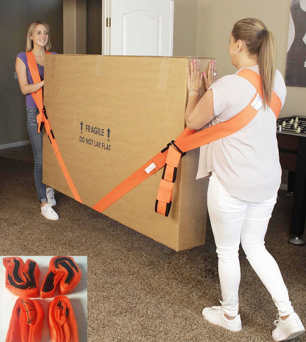 New Lifting Moving Strap Furniture Transport Belt In Wrist Straps For Lifting Bulky Items, Easy Carry Furniture