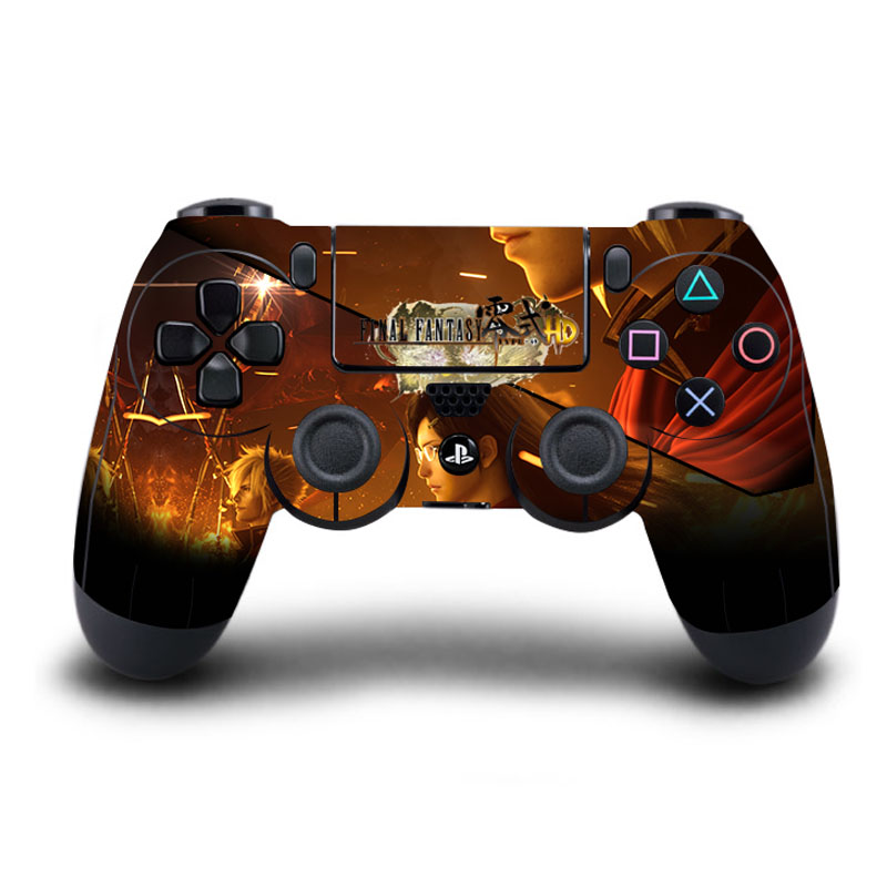 HOMEREALLY PS4 Controller Skin final Fantasy XV PVC Protective Sticker For Play Station 4 Wireless Controller Skin PS4 Accessory