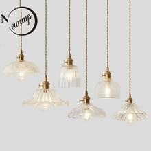 Скандинавские простые медные креативные подвесные светильники с одной головкой для гостиной, спальни, ванной комнаты, кабинета, ресторана, кафе, бара, одежды