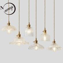 Bắc Âu Đơn giản Đồng đầu đơn sáng tạo mặt dây chuyền đèn cho phòng khách phòng ngủ phòng tắm nghiên cứu nhà hàng cafe thanh quần áo
