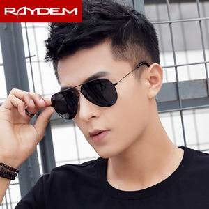 Image 4 - 2018 New sunglasses men vintage Pilot Polarized Glass lens Sun glasses Driving Fishing oculos Mirror reflctive Women Eyewear