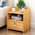 Простой современный прикроватный столик шкафчик для хранения в спальню Деревянный шкафчик тумбочки ящик мебель для спальни