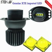 Senlo New Arrival Fashion 4X10W 40 Watt LED Car Angel Eyes Lights Marker Halo Ring Lights Lamp For BM W E90 E91 3Series M3 M5 M4
