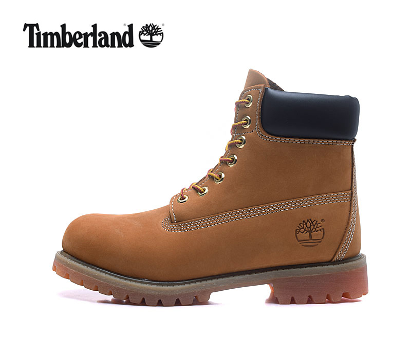 TIMBERLAND Original Classic 10061 Fashion Women Ankle Snow Boots,Woman Genuine Leather Popular Premium Yellow Casual Walk Shoes