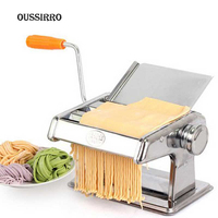 OussirroThick hand pressing stainless steel household manual noodle machine small multifunctional dough rolling dumpling machine