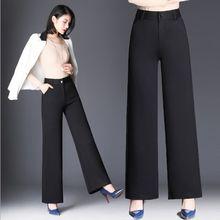 Promoción De Pantalones Vestir Cintura Compra Alta Negro 315JTlcFKu