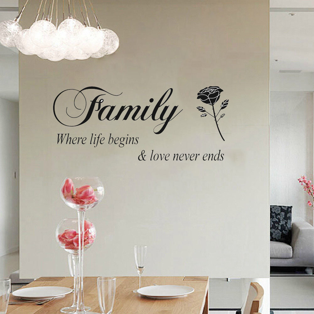 Diy quotes family letter wall sticker kids living room vinyl diy quotes family letter wall sticker kids living room vinyl bedroom decoracion children wallpapers home decor mural in wall stickers from home garden on amipublicfo Choice Image
