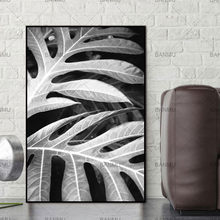 Canvas Painting Wall Pictures Living Room Art Decoration Pictures Print Scandinavian Leaf Nordic Abstract Spring Active No Frame(China)
