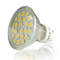 GU10 4W 3000K Low Consumption Environment friendly Non dimmable Compact Size Lightweight 120 Degree Beam Angle LED Spotlight