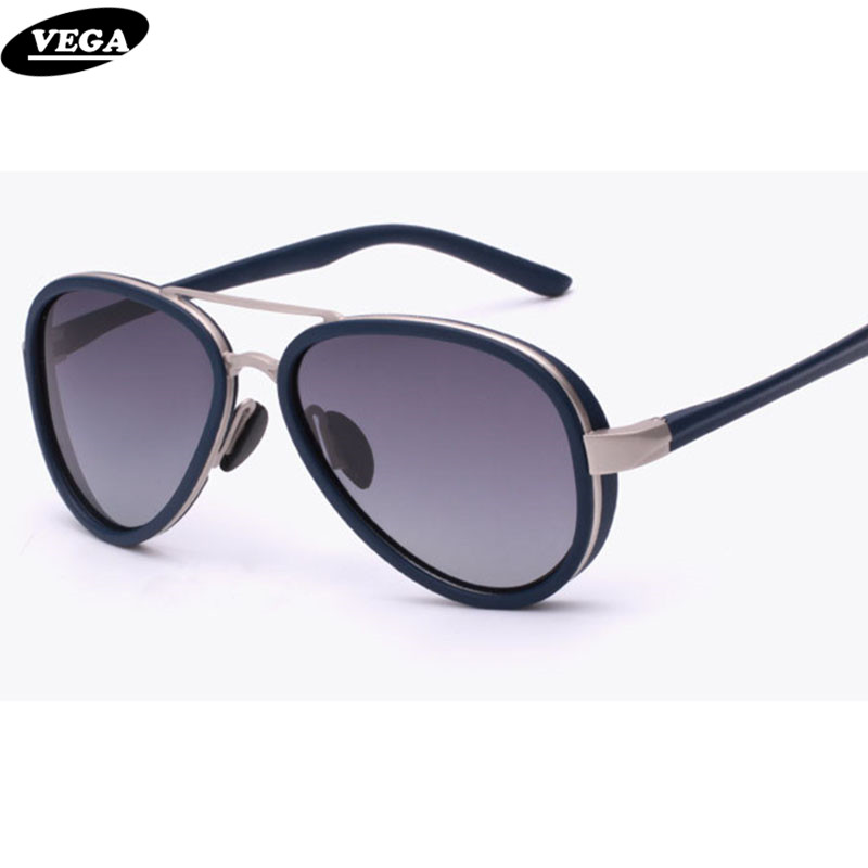 VEGA Polarized Vintage Goggles Vintage Spectacles Popular Aviation Sunglasses For Small Face Hipster Glasses 304