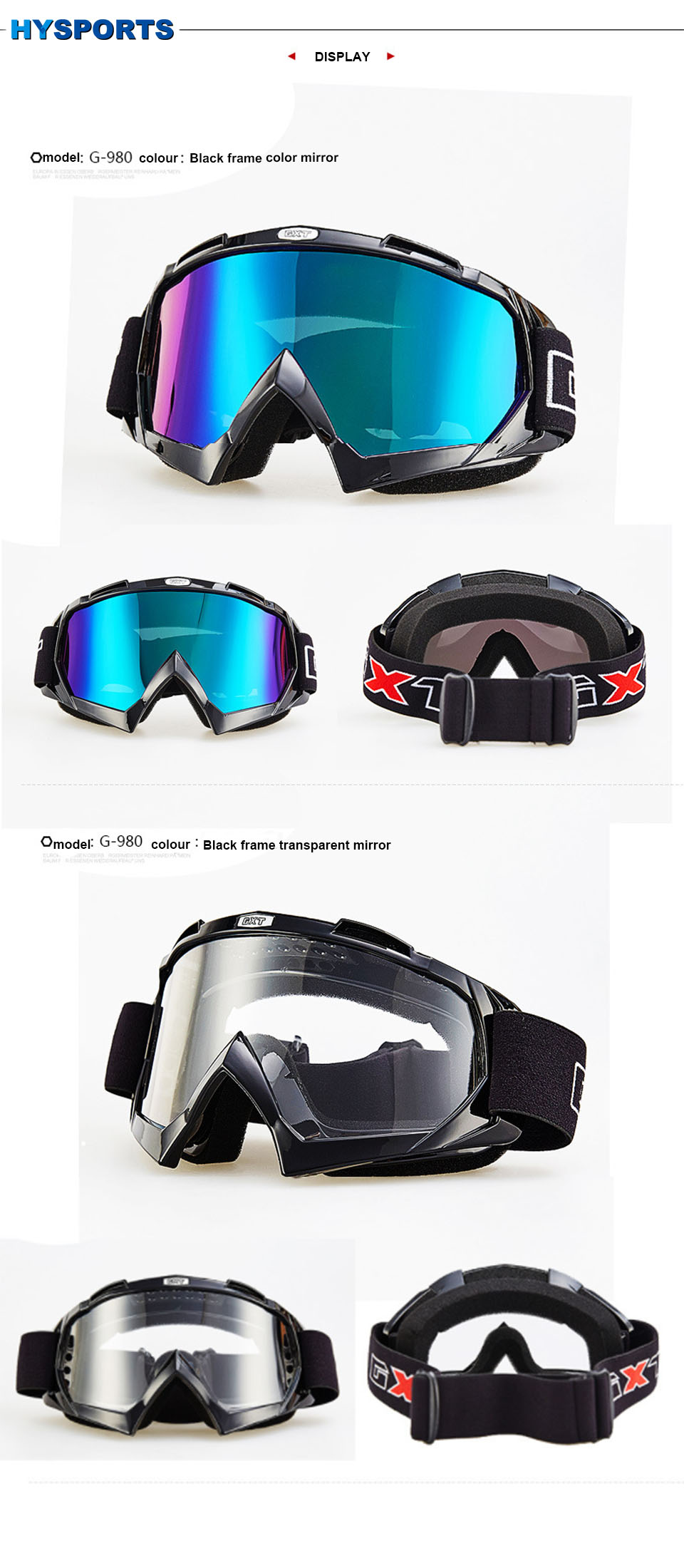 skiing and snowboarding ski googles snowmobile windproof Dustproof men multi snow goggles (6)