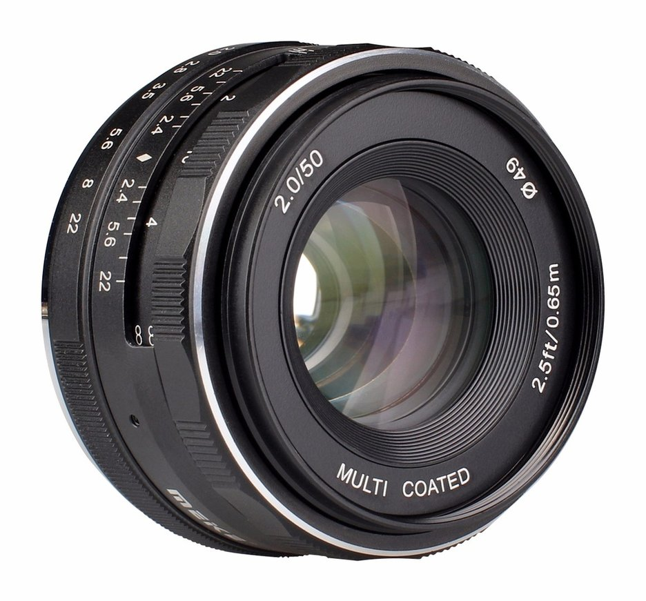 Meike MK-N1-50mm-f/2.0 Large Aperture Manual Focus lens APS-C For Nikon 1 V1 J1 meike mk n1 35mm f 1 7 35mm f1 7 large aperture manual focus lens aps c for nikon 1 mount j1 v1 page 4
