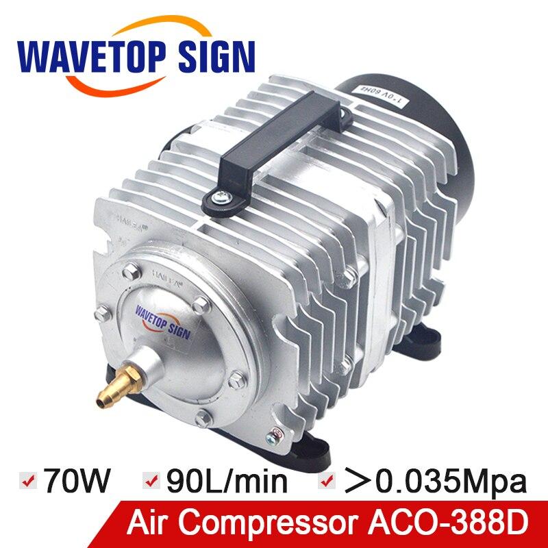 HAILEA 70W Air Compressor Air Pump for CO2 Laser Engraving Cutting Machine ACO-388D цены