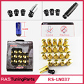 New Arrival RAYS Racing Composite Nut Anti Theft Alloy Aluminum Lock Wheel Lug Nut Bolt M12X1.5 M12X1.25 RS-LN037
