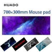 700 300mm Rubber Mouse Pad Gaming Mouse Mat DIY Custom Mousepad Desktop Mat For Cs Go