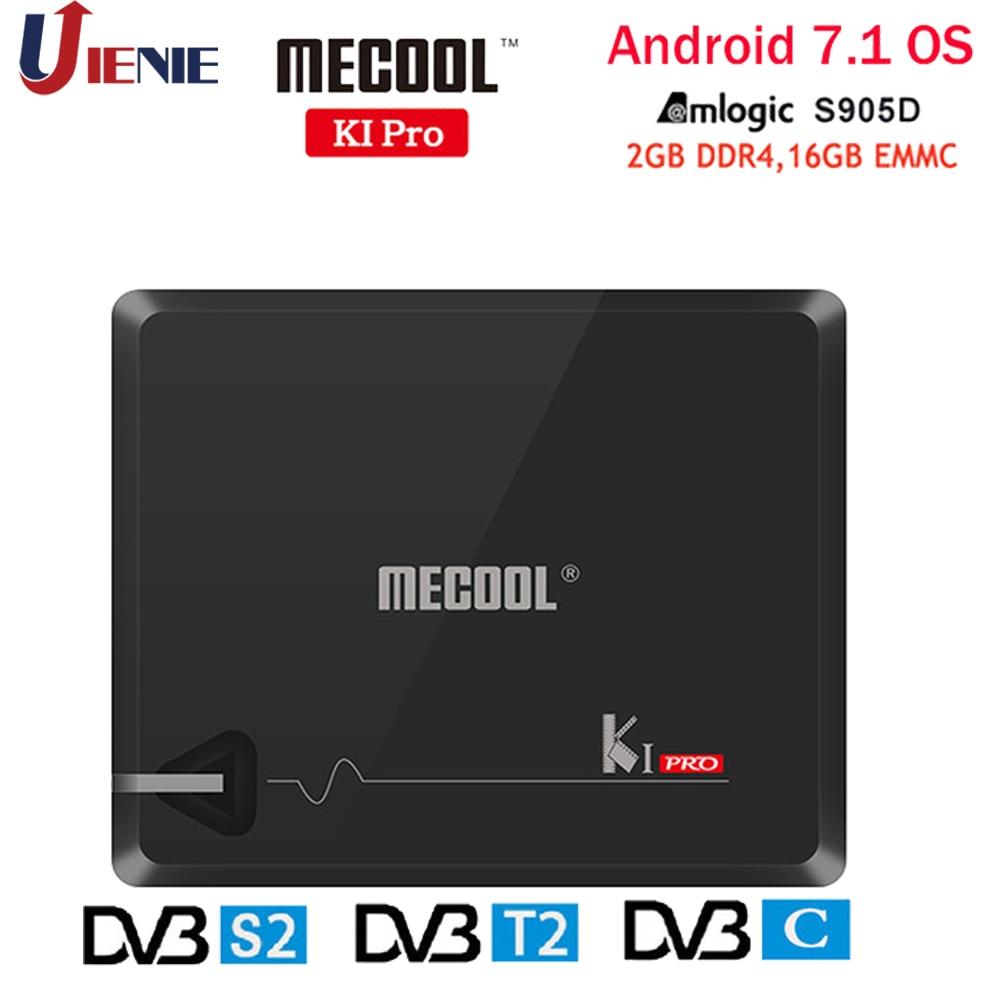 MECOOL KI PRO Set Top Box Android 7 1 Amlogic S905D Quad 2G 16G DVB T2