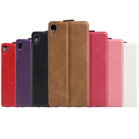 For Xperia XA Case luxury vertical flip Leather With Card Slots Cover For Sony Xperia XA Dual F3113 F3112 F3115 Cell Phone Bag