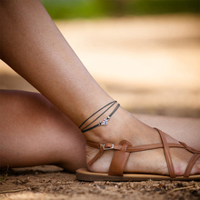 Ethnic Beach Jewelry Multi-layer Anklet Chic Leather Foot Chain Ankle Bracelets & Bangles for Women Gift Sexy Accessories S5038