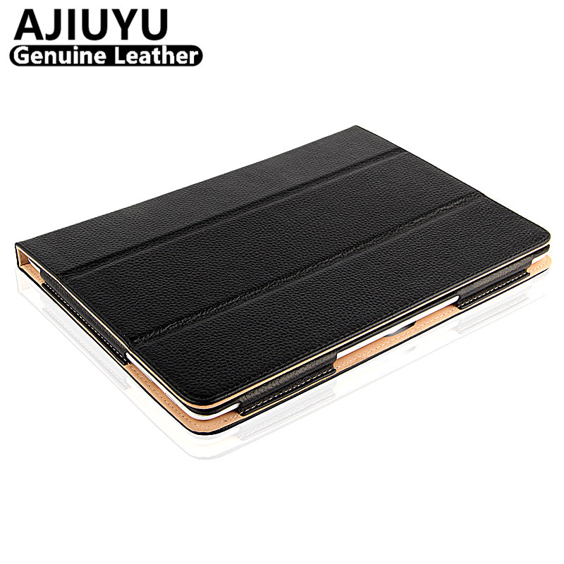 Genuine Leather For Huawei MediaPad Link Case FHD PProtective PU Smart Cover Tablet S10-201U 201W S10-231u S10-231w 233L Cowhide flip pu leather case for huawei t1 10 9 6 t1 a21w tablet case for huawei mediapad t1 t1 a21l t1 a23l honor note smart cover