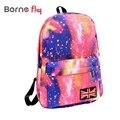 Sacos de Escola de moda Para Adolescentes Estrelas Universo Espaço Mochila Impressão do Livro de Escola Mochilas Saco de Bandeira Britânica Frete Grátis
