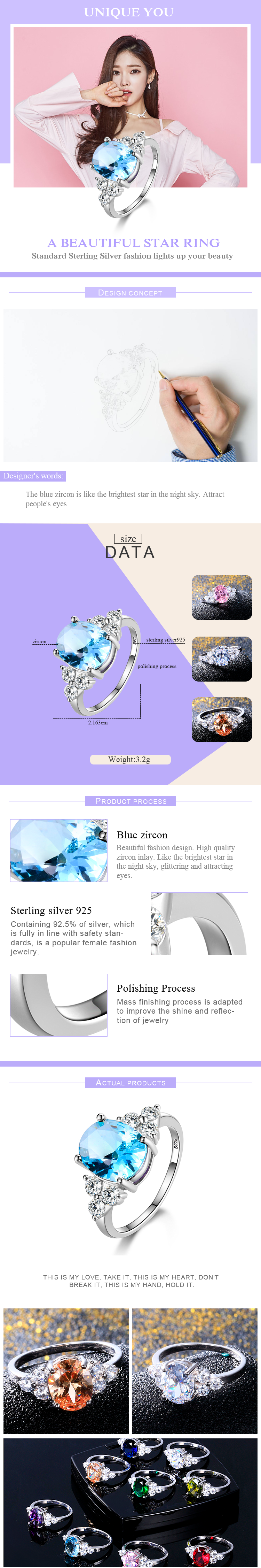 HTB1xGHqseuSBuNjSsziq6zq8pXaR - Women's Jewelry 925 Sterling Silver Rings White Pink Light Blue Champagne Zircon Oval Wedding Ring