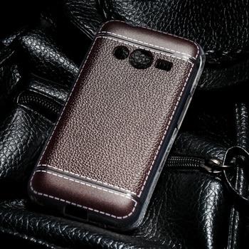Cubierta de dolor de silicona teléfono caso para Samsung Galaxy ACE 4...