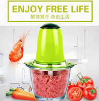 Meat Grinders home electric mini grinder winch machine vegetable crusher pepper mixer garlic puree