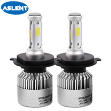 ASLENT Car Light Bulbs LED H4 H7 H1 H11 H8 H9 H3 H13 9005 HB3 9006 HB4 9004 9007 880 Auto Headlight 72W 8000LM Led Lamp 12V
