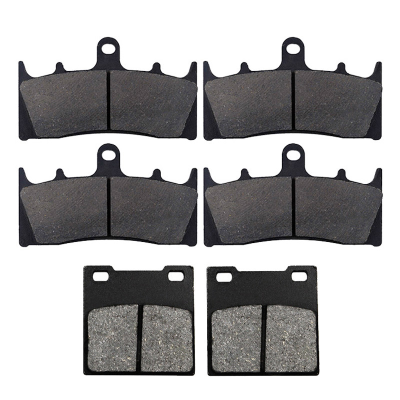 Motorcycle Front and Rear Brake Pads for SUZUKI GSXR 1100 GSXR1100 1993-1998 GSF <font><b>1200</b></font> <font><b>GSF1200</b></font> <font><b>Bandit</b></font> <font><b>1200</b></font> 2001-2005 image