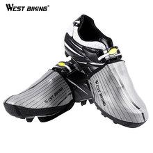 Overshoes Reflective Bike MTB Bicycle Waterproof Rain West-Biking Half-Palm