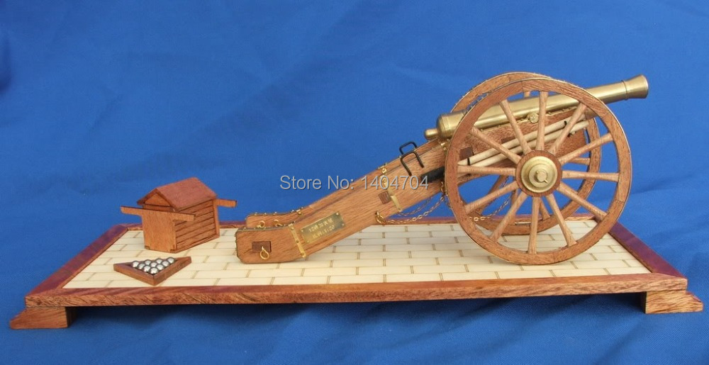 classic DIY model cannon assemble kits 1792 Napoleonic Era12 pounds field guns model