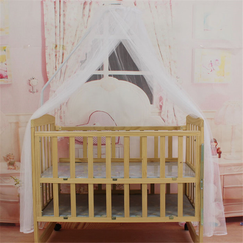 New mosquito Baby <font><b>Toddler</b></font> <font><b>Bed</b></font> Crib Canopy Home Mosquito White P15