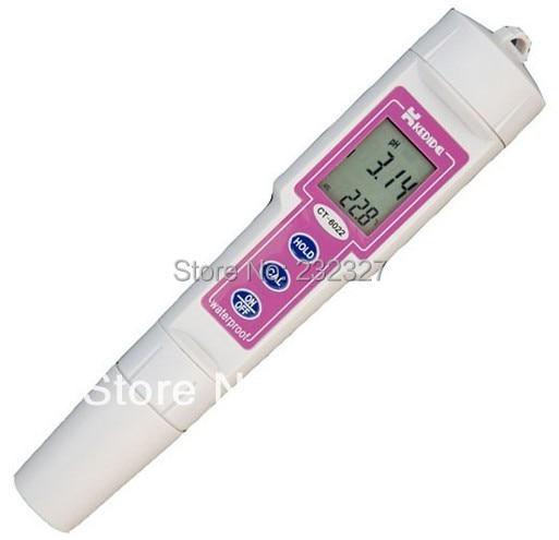 Pen type ph meter digital Portable Tester filter water CT-6022 Measurement range of 0.00 ~ 14.00pH 2013 new and supernova sale portable ph meter water quality meter digital ph tester with measuring range 0 14