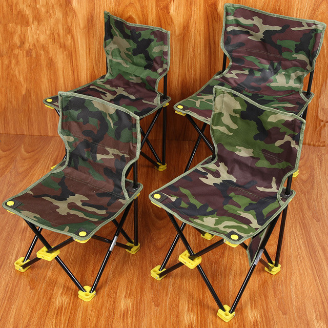 Camouflage folding seat outdoor folding seat, backback fishing chair ...