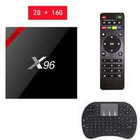 X96 W mini Android 7.1 Smart TV BOX 2 GB/16 GB TVBOX X 96 mini Amlogic S905W H.265 4K 2,4 GHz WiFi Media-Player Set-Top Box X96mini