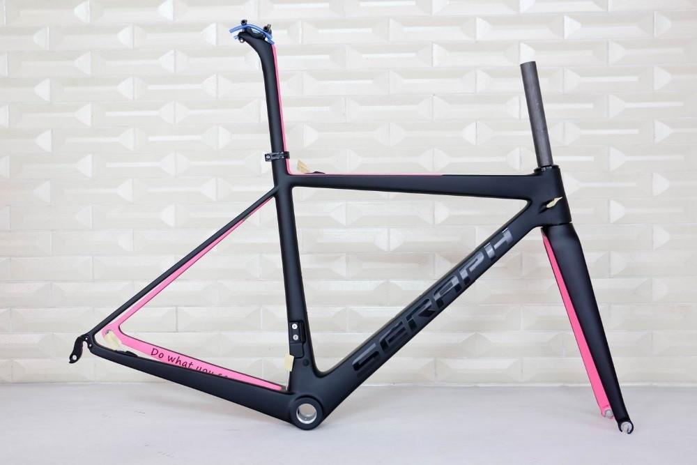 SERAPH Full Carbon Road Racing Bicycle Frame Carbon Road Bike Frame Carbon Frame Road Bike 1-1/8