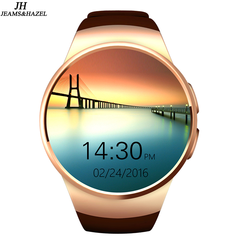 kw18 Smartwatch Bluetooth Smart Watch Relogio Watch Android Phone Call SIM TF for men touch screen