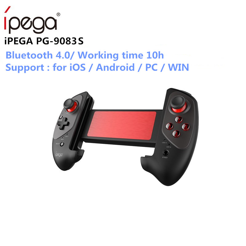 IPEGA PG-9083s PG 9083 Bluetooth Gamepad Wireless Telescopic Game Controller Practical Stretch Joystick Pad for iOS/Android/WIN(China)