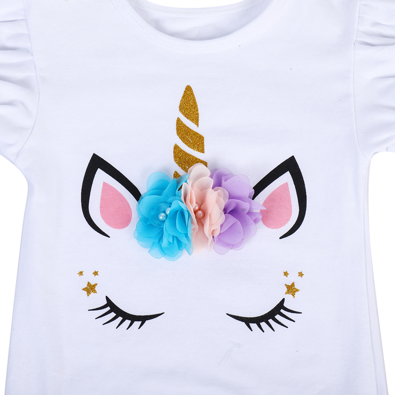 16c0f83b3 ... Skirt Cute Baby Girl Clothes. . 2pcs Set Unicorn Flower Cake Smash  Outfit for Baby Girls 1st Birthday Gift Baby Bodysuit Tutu. sku: 32960592787