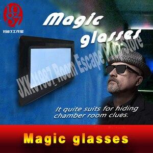 Image 3 - 新しいエスケープルーム小道具マジックメガネ魔法を見つけるメガネに見えない手がかり JXKJ1987 表示され実生活ルームエスケープ